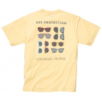 Use Protection Tee: Yellow